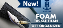 TH Marine - Tackle Titan Foam Lure Holder