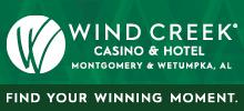 Wind Creek Montgomery and Wetumpka